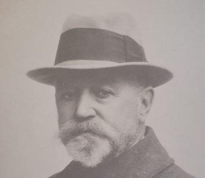 Hagbarth Thisted på sine eldre dager.