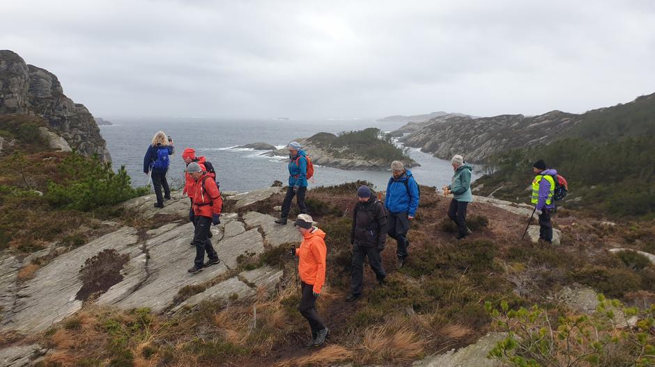 Utsikt mot Ånesholmen og Lønosen