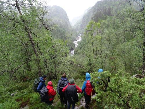 Dramatisk naturlandskap - Eikefetvassdraget, Lindås i Nordhordland
