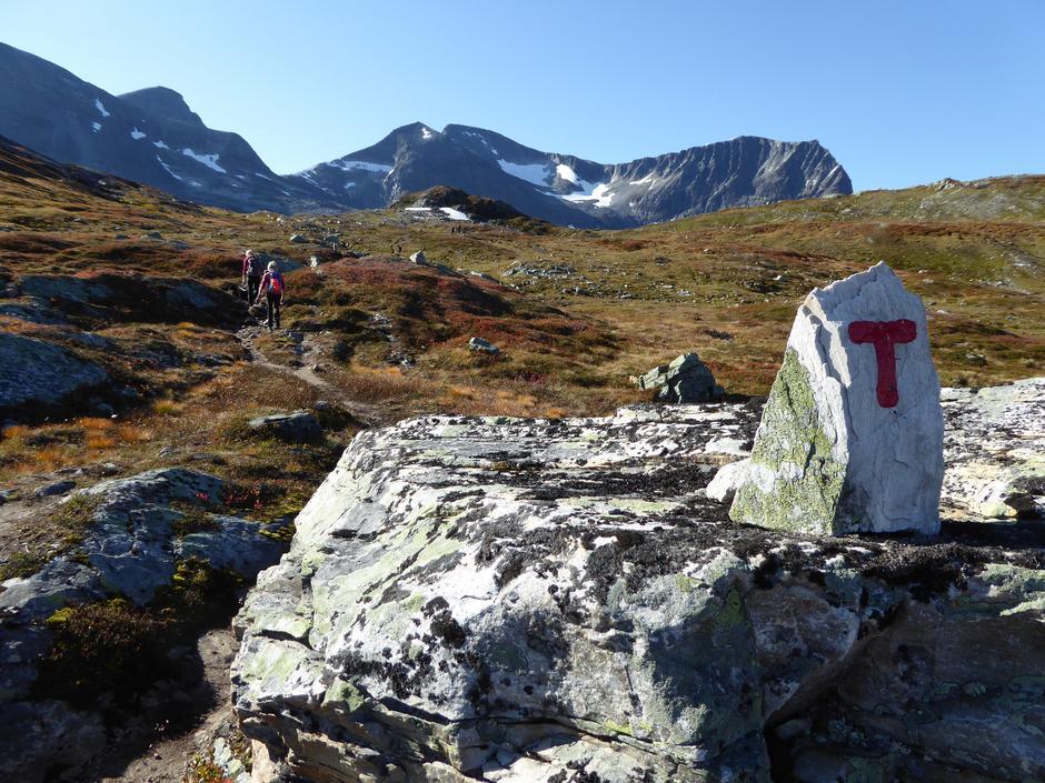 På tur fra Bårdsgarden mot Innerdalen.