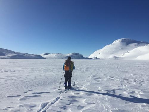 På vei mot Vassfjøro