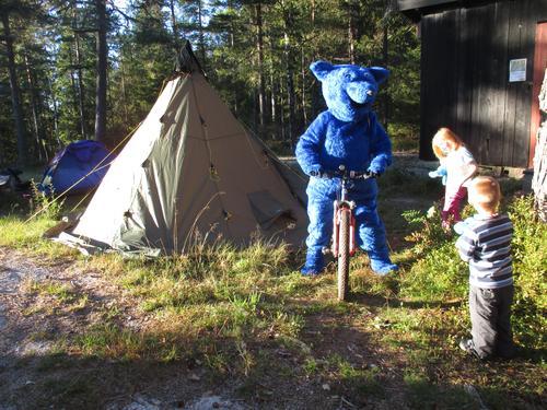 Turbo på teltur ved Småvannsbu