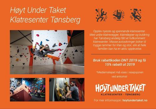 tilbud hos Høyt under taket!