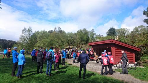 Pangstart for ny turgruppe i Nordhordland Turlag