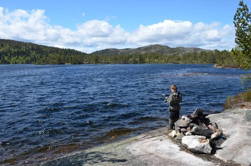 Fisketur til Måvann søndag 7 juni