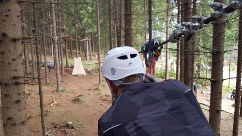 Tur til Helgøya Klatrepark 25.08 (DNT ung)