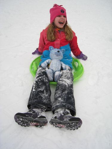 Frisk ski- og akedag med Turbo og Barnas Turlag