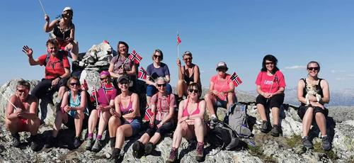 Nydelig fellestur over Langfjord Skyline!