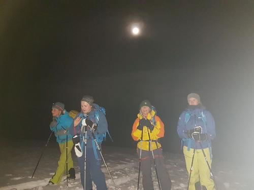 Kveldsmat i måneskinn
