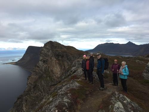 Turdeltakere på Aunfjellet