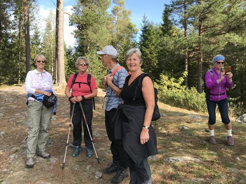 Seniortur i Øverbymarka, 5.september 2018