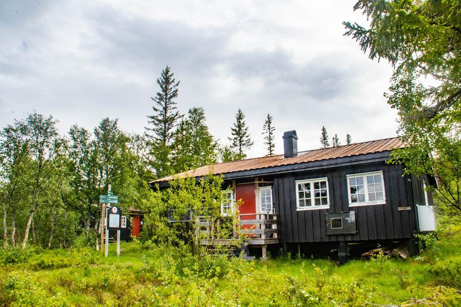 Græslihytta ligger fint til og er et bra startpunkt for turer inn til Roltdalen. Det er mulig å ta bussen til Græsli og gå opp til hytta.