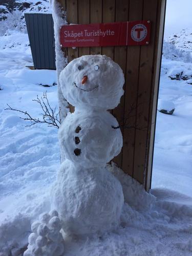 Snø på Skåpet og Preikestolen 20. nov
