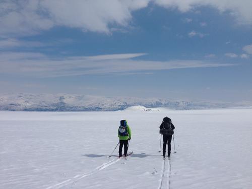 Skitur på Folgefonna