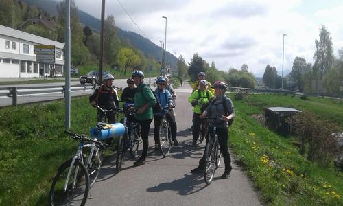 21. mai hadde Seniorgruppa en kulturhistorisk sykkeltur