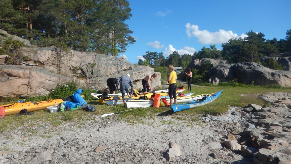 Avgang fra Risøya.