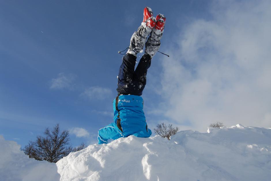 Vinterferien gir muligheter til å oppleve snø på nye måter.