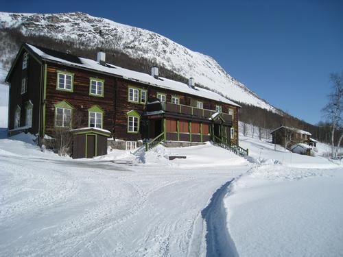 Bårdsgarden i Trollheimen byr på 20 sengeplasser og godt med turmuligheter.