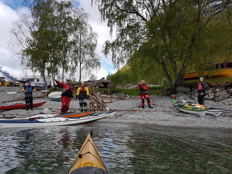 19.05.2019 - Padletur på Lovatnet