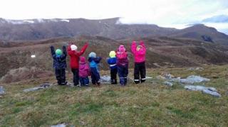 Turrapport frå Barnas Turlag Stadtlandet