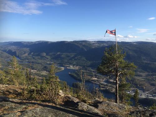 14. mai hadde Seniorgruppa fottur til Vardeberget i Aurdal