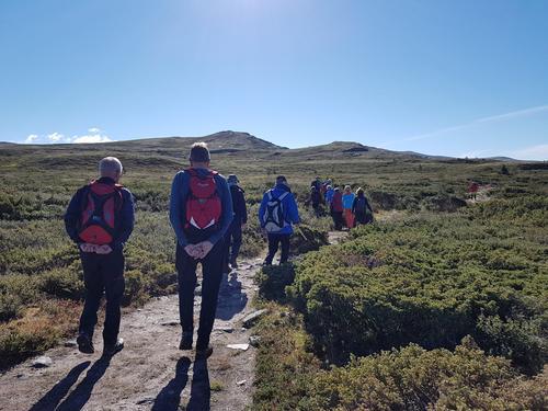 Seniorgruppa sin tur til Høvringen og Rondane august 2018