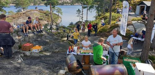 250 på KOM DEG UT DAGEN på Camp Skarvann i Risør søndag 1. september