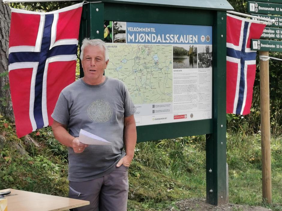 Tore Askim, prosjektkoordinator MIFsenior - DNT Drammen og Omegn.
