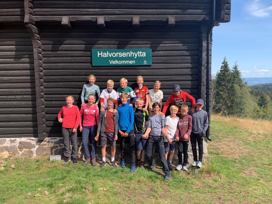 Gjengen på Basecamp Halvorsen 2019