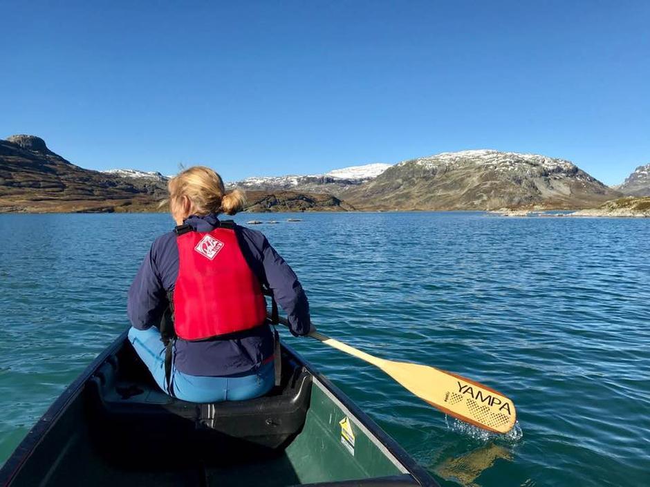 Fjellet på sitt beste. Med kano fra Haukeliseter blir turen rundt Ståvann kortere.
