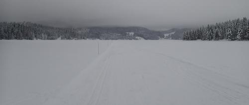 Utsikt mot Kikut fra sørvest.