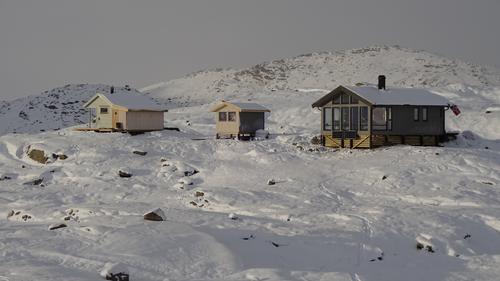 Folkevandring til åpningen av Haakonsbu