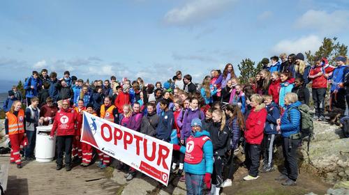 Vinnarar på Opptur 2016