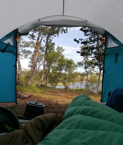 Velkommen  til  fjells  med  telt