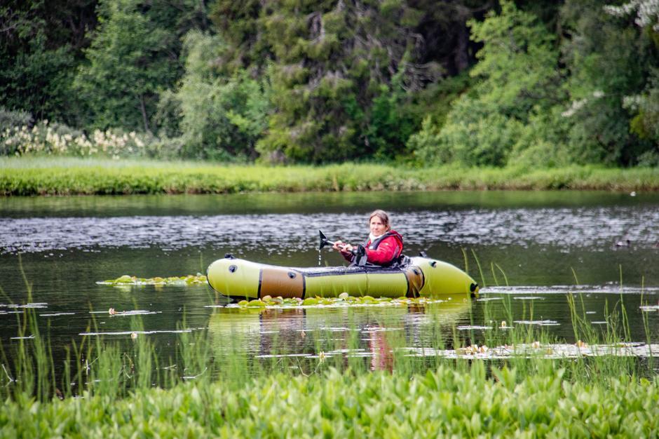 Heidi Jensberg i en Norseraft Viking