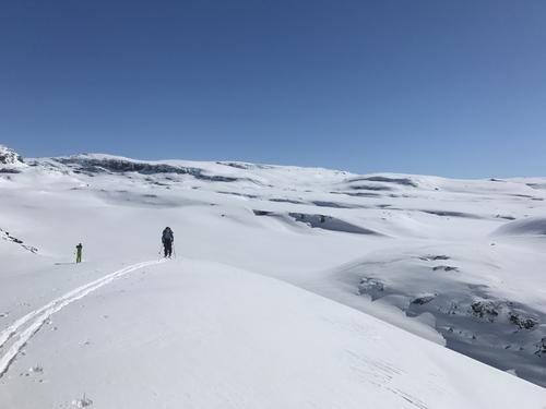 Føremelding uke 16 Barmark og snø i Ryfylkeheiene