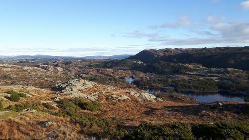 Utsikt fra Gardafjellet