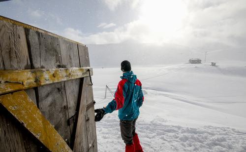 Veltdalen, Tafjordfjella. Masse kraft og krigshistorie. Fieldsfarehytta ligger i område.
