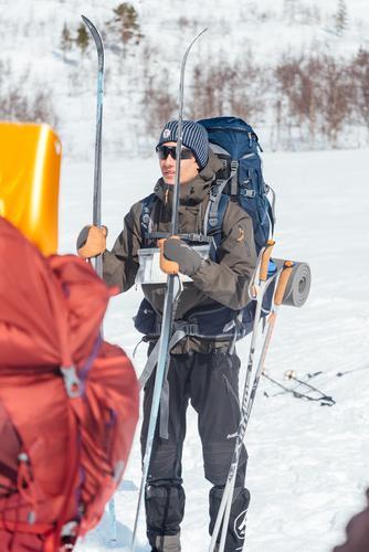 Torkel er aktiv turleder og kursholder ved siden av lektorstudiet han tar på heltid. Hans viktigste tips er å nyte turen, og ikke tenke for mye på turmålet.