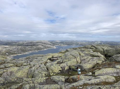 Utsikt mot Skjerjavatnet