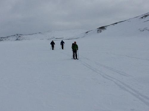 Skitur over Besseggen
