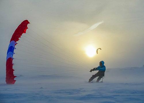 Kiting på Haukeli