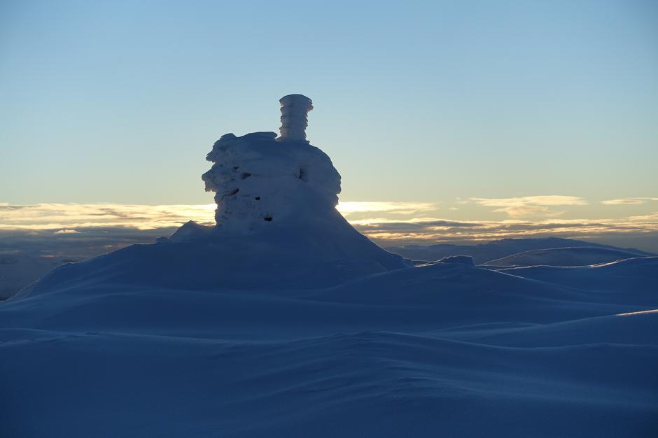Lørdag 8.12: Toppvarden på Øykjafonn (1604 moh)