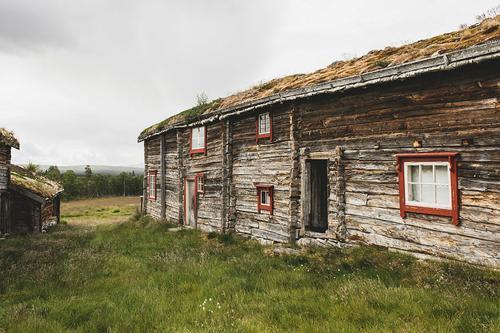 Fjølburøsta, svært autentisk selvbetjent hytte