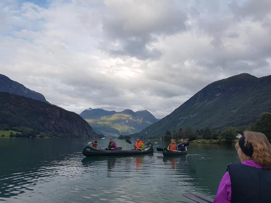 14.08.2019 - Kanopadling Oppstrynsvatnet