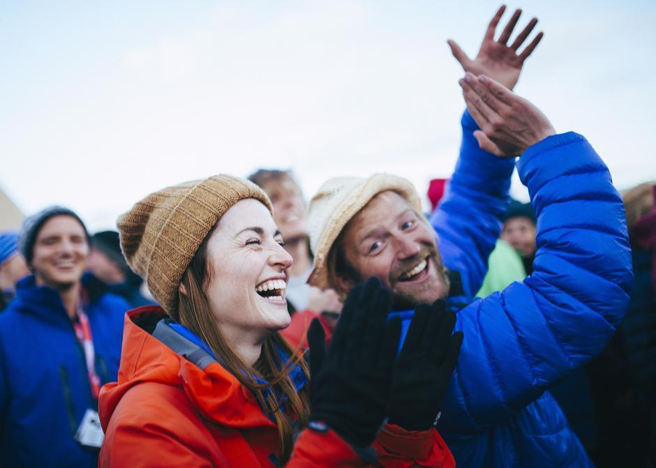 Andreas Vaage og Kaia Furnes er to av de 3000 som sikret seg et festivalpass til Vinjerock 2019.