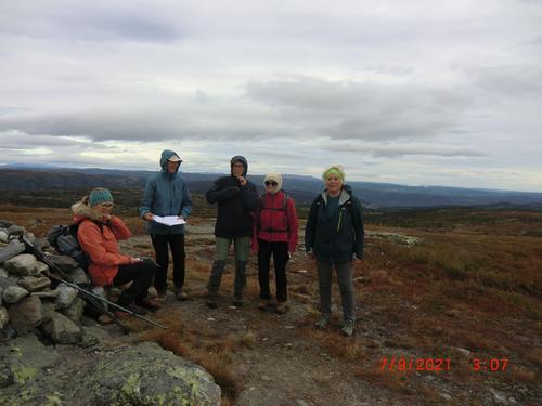 7. september hadde Seniorgruppa tur i Sør-Aurdal til Ølnesseterfjellet
