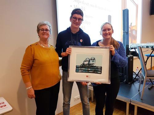 Folkehelseprisen 2019 til DNT ung Trøndelag