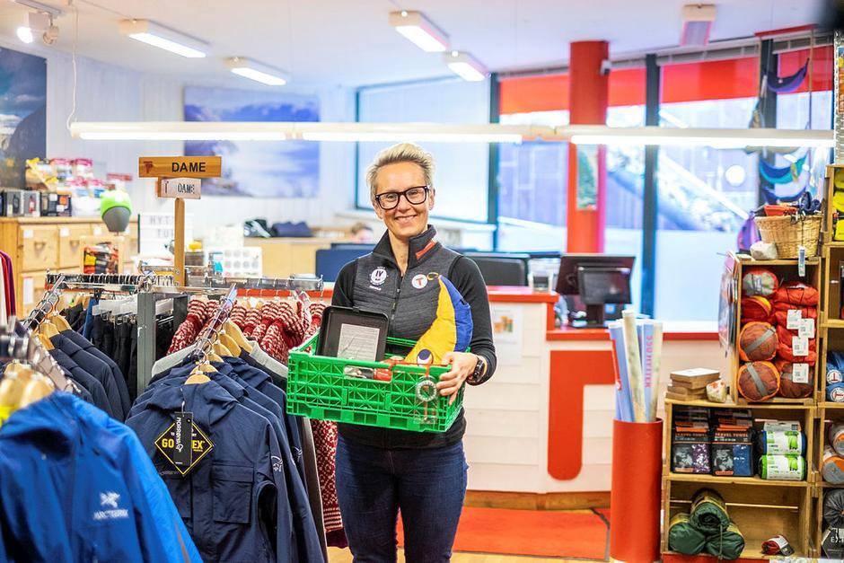 Leder på Tursenteret i Stavanger Turistforening Kaja Raa Storaker.