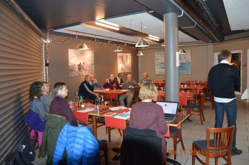 Samandrag frå årsmøtet 2016 i Lærdal Turlag.